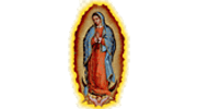 Virgen De Guadalupe 5ft Hand Made In La, Ca Logo